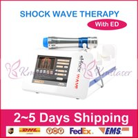 Electromagnetic physical shock wave therapy aesthetic equipm...