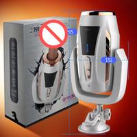 Автоматическая секс-машина телескопические вибраторы фаллоимитатор с присоской вращения реалистичный пенис мастурбация насосный пистолет секс-игрушки для взрослых