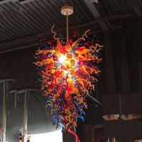 في مهب رائع نمط السقف الزجاجي الخفيفة الظل العتيقة التركية المعلقة كريستال مصباح التقليدية اليد زجاج الثريا