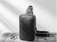 Hochwertige handgefertigte mode männer designer cross body messenger bags 3 farben outdoor frauen gürteltasche pack brusttasche # 55