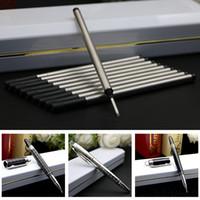 Heißes Freeshipping SuperA Qualität M-Marken-bester Preis Alles Metall Roller Feder-Büro-Lieferanten beste Qualität Promotion Neue Kommen berühmter Stift-2