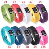 10 اللون استبدال الذكية المعصم المطاط باند watchband لينة سيليكون الشريط للغارمين vivofit 4 Vivofit4 معصمه