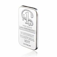 999 الجميلة الجودة الفضة معدن مطلي بار شمال غرب الإقليمي النعناع السبائك بار عملة فضية للمنزل مجموعة تذكارية