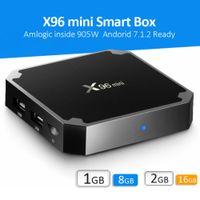 X96 Mini Android 7.1 TV Boîtes Amlogic S905W 2 Go 16 Go Smart TV Box Wifi 2.4G PK TX3 TX6 H96 Max