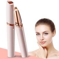 Mini sourier électrique maquillage maquillage épilateur d'oeil sans douleur épilateur pour femmes rasoirs rasoirs portables poils de visage k pn wwing sylvier