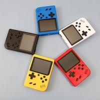 Красочные коробки игр 400 игр Ретро Портативная игровая консоль 3,0 дюйм Детей игра плеер с 1020mAh батареей TV Out