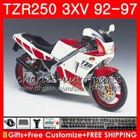 바디 yamaha tzr-250 3xv tzr250 92 93 94 95 96 97 119HM.33 TZR250RR rs ypvs tzr 250 1992 1993 1994 1995 1996 1997 뜨거운 판매 화이트 페어링