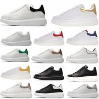 Дизайнер Мужчины Женщины кроссовки Повседневная обувь смарт тренеры платформы светящиеся люминесцентные обуви змея назад кожа Chaussures Pour Hommes #21714c#