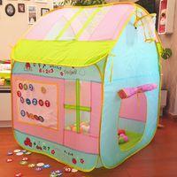 Детский подарок милый качество дети играют в игру дом крытый открытый игрушка Дети Детские пляжные палатки вигвам цена по прейскуранту завода-изготовителя продажа оптом