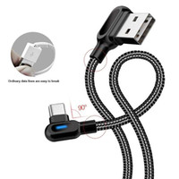 Better use Double Elbow Type- C Micro USB Cables Fast Charge ...