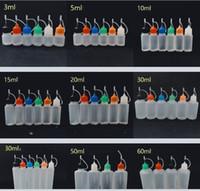 Vape E-juice E-liquid E-cig Flacone contagocce in plastica 10ml 15ml 20ml 30ml 50ml 100ml 120ml 120ml Flacone olio in PE / PET con tappo a prova di bambino gratuito