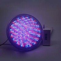 Luzes subaquáticas PAR56 RGB LED Piscina Luz Resina Preenchido Piscina Montado Na Parede FocoPool Lâmpada 12 V IP68 12 W Lagoa