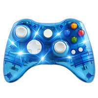 Transparent Wireless Controller Game Remote Controller Gamep...