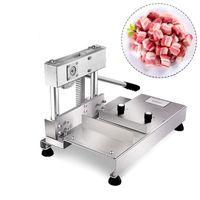 New Knochensäge Schwein Rippen Guillotine-Schneidemaschinen schneiden Kotelett Knochen Maschine manuell geschnitten Rippen Maschine Guillotine Knochenschneiden