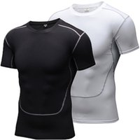 2019 Men' s Sport T- Shirt Quick Dry Running sets Clothes...