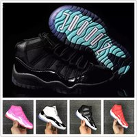 Kids 11 Basketball Shoes 72- 10 Bred Concord GS Heiress Suede...