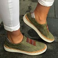 Las mujeres del diseñador de zapatos New Classic Bajo-Top de la mujer de cuero de lujo de los zapatos ocasionales de las mujeres Plate-forme moda del patín Zapatos Casual Tamaño: 35-43