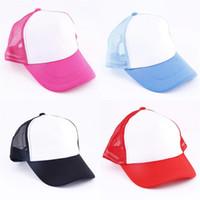 Gorra de béisbol en blanco de varios espacios en blanco sublimación del color del sombrero del Snapback por encargo DIY de la sombrilla de ventilación 4 5xma UU