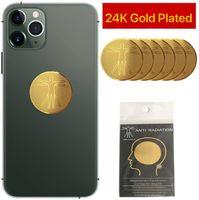 DHL Shipping 6pcs Quantum Shield Sticker наклейка мобильного телефона для сотового телефона Антирадиационная защита от ЭДС Fusion Excel Anti-Radiation