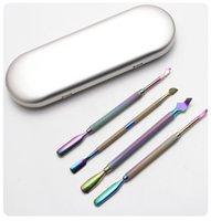 4 шт. Красочные профессиональные принадлежности для ногтей