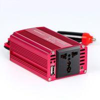 Conversor CA de 220V 230V AC 220V 230V 240V com a tomada de CA e o carregador de carro USB 5V / 2.4A para o acampamento do caderno do portátil do iPhone