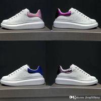 Chaussures de loisirs en cuir de luxe Designer Classic White Shoes Chaussures à lanières pour femmes chaussures de gymnastique dansantes conduite conduite chaussures plates en cuir de vachette 34-45