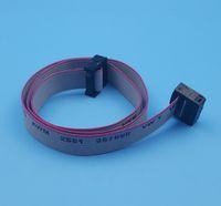 무료 배송 30PCS IDC 10Pin 하드 드라이브 데이터 확장 와이어 플랫 리본 케이블 커넥터 50cm