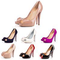 Nuovi Designer Scarpe sneakers Così Kate Stili tacchi rossi con TV Bottoms Tacchi 12cm Genuine Leather Point Toe pompa il formato di gomma 35-42