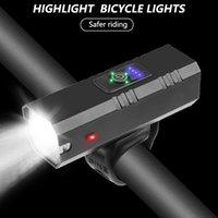 Vélo léger USB rechargeable 800lm 3 Mode étanche Lampe avant du vélo Phare VTT VTT LED de sécurité