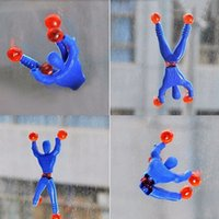 Sticky Elastic Spider Man Fun Stretchy Wall Climbing Super H...