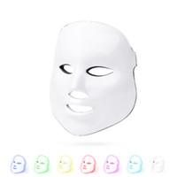 الصحية الجمال 7 ألوان أضواء الصمام الفوتون pdt قناع الوجه الوجه العناية بالبشرة تجديد تجديد العلاج جهاز الاستخدام المحمولة المنزل