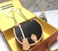 Free shipping! Canvas genuine leather Women Shoulder bag Cir...
