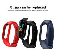 Mode M3 Smart Band Blutdruck Fitness Tracker Schrittzähler Herzfrequenzmonitor Sport Smart Armband Armband Für iOS Android Handy