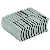 NdFeB Arc Segment OD49xID43x60degx23 мм N38H Диаметрально Мотор Магнит для ветрогенераторов неодимовый магнит 6шт