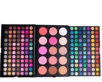 183 цвета теней для век + румяна + ремонт жемчужный свет трехслойная комбинация макияж пластины 183 цвета палитры теней для век