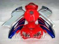 Piezas originales de la motocicleta del molde para HONDA 04 05 CBR 1000 RR azul rojo plata ABS kit carenado CBR1000RR 2004 2005 carenado XB45
