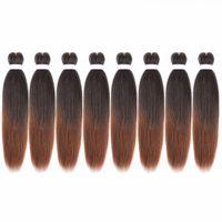 """Extension de cheveux de tressage pré-étiré de cheveux tressés EZ Braid, 20 """""""
