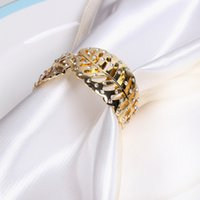 Shiny Gold Silver Plating Leaves with Clear Crystals Jeweled...