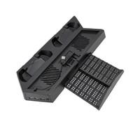 Para os controladores de jogos PS4 Slim Acessórios Hub USB para PS4Slim 4 em 1 Adaptador de alta velocidade para PS4 PRO portas USB livres