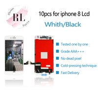 10PCS parts for top quality for iPhone 8 LCD display 3D touc...