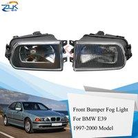 ZUK الجبهة الوفير ضوء الضباب Foglight لE39 BMW 5 سلسلة 520 523 525 528 535 540 M5 1995-2000 1995-2002 Z3 مصباح الضباب Foglamp