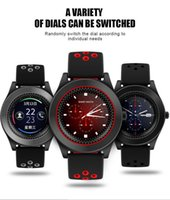 TF8 Smart Watch with Round Screen Camera Sports Strap Fitnes...