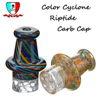 Color cyclone riptide carb cap dia 30mm glass dabber oil fit...