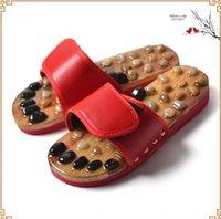 Dei punti di agopuntura Massaggio ai piedi scarpe da Cobblestone del piede dei pistoni Dolore rilassamento Health Care agopuntura e moxibustione pantofole