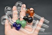 3style vetro colorato zucca tubo bruciatore olio denso curvo piattaforma petrolifera tubo di mano di fumare vetro bilanciatore