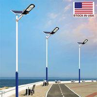 2020 Nuovo Solar LED Street Light 60W 100W High Brightness 3030 LED IP65 Solar Solar Solar Light