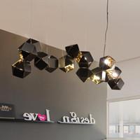 المعادن قلادة ضوء الحديث الإبداعي ل غرفة المعيشة غرفة الطعام تصميم دائري معلق مصابيح الإضاءة الديكور المنزل