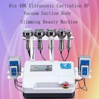 2 0 1 9 Elitzia ETWD675A Máquina Corpo Shaper Weight Loss Skin Care 6 em 1 Ultra-cavitação RF vácuo CE