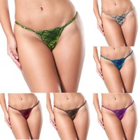 Glitter Womens Metallic Color Micro G- strings Thong Sexy Min...