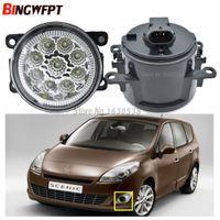 2x Para Renault Kangoo Grand Kangoo 2007-2015 Car Styling Bombilla LED H11 Luz antiniebla Luz diurna DRL 12 V
